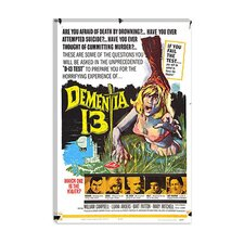 <strong>iCanvasArt</strong> Dementia 13 (Movie) Advertising Vintage Poster