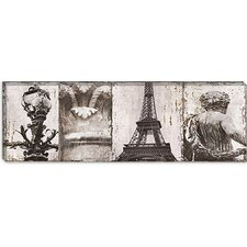 "<strong>iCanvasArt</strong> ""Details from Paris I"" Canvas Wall Art by Pela and Silverman"