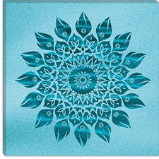 "<strong>iCanvasArt</strong> ""Deep Meditation Mandala"" Canvas Wall Art by Maximilian San"
