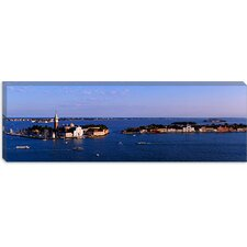 <strong>iCanvasArt</strong> Buildings Surrounded by Water, San Giorgio Maggiore, Venice, Italy Canvas Wall Art