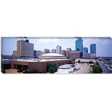 <strong>iCanvasArt</strong> High Angle View of office Buildings in a City, Dallas, Texas Canvas Wall Art