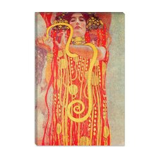 "<strong>iCanvasArt</strong> ""Klimt Medicine"" Canvas Wall Art by Gustav Klimt"