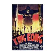 <strong>iCanvasArt</strong> King Kong (Movie) Advertising Vintage Poster