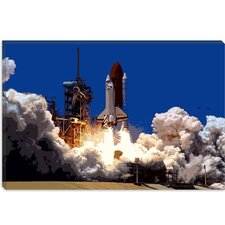 <strong>iCanvasArt</strong> Into Outer Space Canvas Wall Art