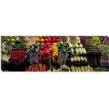 Pike Place Market, Seattle, King County, Washington State Canvas Wall Art