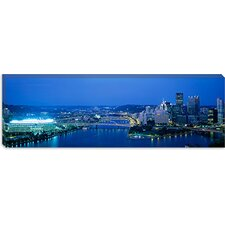 <strong>iCanvasArt</strong> Three Rivers Stadium, Pittsburgh, Pennsylvania Canvas Wall Art