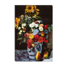 """Flowers in a Vase"" Canvas Wall Art by Auguste Renoir"