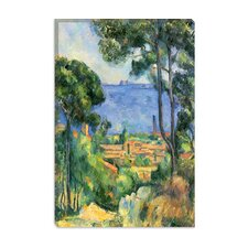 "<strong>iCanvasArt</strong> ""Forest of Trees"" Canvas Wall Art by Paul Cezanne"