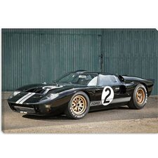 <strong>iCanvasArt</strong> Ford GT40 Le Mans Race Car 1966 Canvas Wall Art