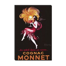 """Cognac Monnet (Vintage)"" Canvas Wall Art by Leonetto Cappiello"