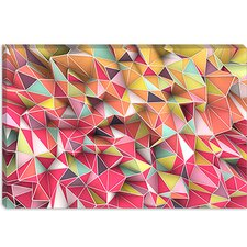 "<strong>iCanvasArt</strong> ""Kaos Fashion"" Canvas Wall Art by Maximilian San"