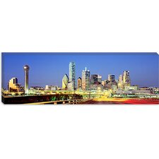 <strong>iCanvasArt</strong> Dallas Texas Canvas Wall Art