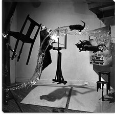 "<strong>iCanvasArt</strong> ""Dali Atomicus 1948"" Photo Canvas Wall Art by Philippe Halsman"