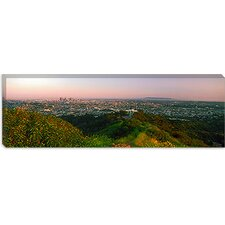 <strong>iCanvasArt</strong> City of Los Angeles, California Canvas Wall Art