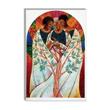 "<strong>iCanvasArt</strong> ""Family Tree"" Canvas Wall Art by Keith Mallett"