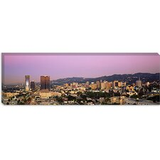 <strong>iCanvasArt</strong> Hollywood Hills, Los Angeles, California Canvas Wall Art