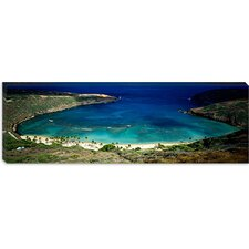 <strong>iCanvasArt</strong> Hanauma Bay, Oahu, Hawaii Canvas Wall Art