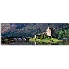 <strong>iCanvasArt</strong> Eilean Donan Castle, Highlands Region, Scotland Canvas Wall Art