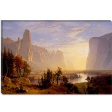 """Yosemite Valley"" Canvas Wall Art by Albert Bierstadt"