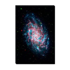 <strong>iCanvasArt</strong> Young Galaxy M33 (Nasa) Canvas Wall Art