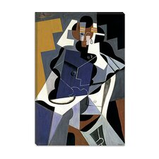"<strong>iCanvasArt</strong> ""Seated Woman"" Canvas Wall Art by Juan Gris"