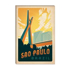 <strong>iCanvasArt</strong> Sao Paulo, Brazil Canvas Wall Art