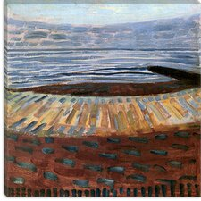 "<strong>iCanvasArt</strong> ""Sea at Sunset, 1909"" Canvas Wall Art by Piet Mondrian"