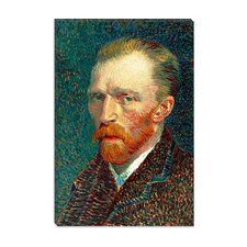 "<strong>iCanvasArt</strong> ""Self Portrait, 1887"" Canvas Wall Art by Vincent Van Gogh"