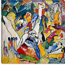 """Sketch for Composition"" Canvas Wall Art by Wassily Kandinsky"