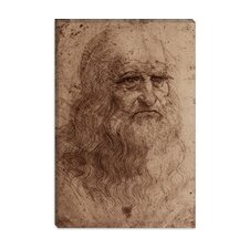 """Self-Portrait 1515"" Canvas Wall Art by Leonardo Da Vinci"