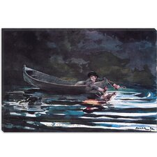 """Sketch for Hound and Hunter 1892"" Canvas Wall Art by Winslow Homer"