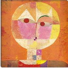 """Senecio"" Canvas Wall Art by Paul Klee"