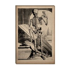 "<strong>iCanvasArt</strong> ""Skeletal Anatomy"" Canvas Wall Art by Govard Bidloo"