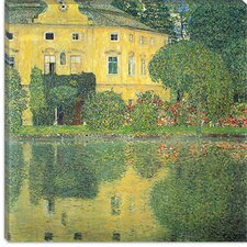 "<strong>iCanvasArt</strong> ""Schloss Kammer on the Attersee IV (Schloss Kammer on Lake Attersee IV)"" Canvas Wall Art by Gustav Klimt"