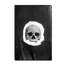 <strong>iCanvasArt</strong> Skeleton Canvas Wall Art