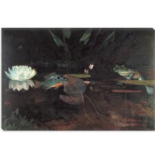"""Mink Pond 1891"" Canvas Wall Art by Winslow Homer"