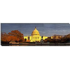 Capitol Building, Washington, D.C Canvas Wall Art