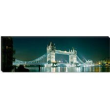 <strong>iCanvasArt</strong> Tower Bridge, London, England Canvas Wall Art