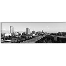 <strong>iCanvasArt</strong> Orlando Panoramic Skyline Cityscape Canvas Wall Art