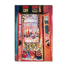 "<strong>iCanvasArt</strong> ""Open Window at Collioure (1905)"" Canvas Wall Art by Henri Matisse"