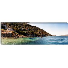 Kayaking, Sunken City, Kekova Turkey Canvas Wall Art