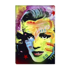"<strong>iCanvasArt</strong> ""Marilyn Monroe I"" Cancas Wall Art by Dean Russo"