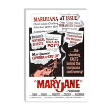 <strong>iCanvasArt</strong> Maryjane Vintage Movie Poster