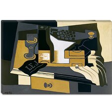 "<strong>iCanvasArt</strong> ""Le Moulin a Cafe (Coffee Grinder)"" Canvas Wall Art by Juan Gris"