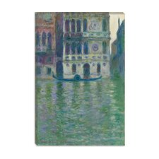"<strong>iCanvasArt</strong> ""Le Palais Dario 1908"" Canvas Wall Art by Claude Monet"