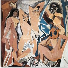 "<strong>iCanvasArt</strong> ""Les Demoiselles d'Avignon"" Canvas Wall Art by Pablo Picasso"