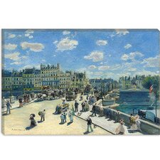 """Le Pont Neuf (Paris)"" Canvas Wall Art by Pierre-Auguste Renoir"