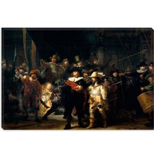 "<strong>iCanvasArt</strong> ""Night Watch 1642"" Canvas Wall Art by Rembrandt"