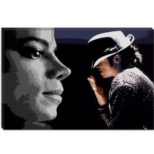 <strong>iCanvasArt</strong> Michael Jackson Canvas Wall Art
