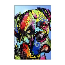 """Mastiff Warrior"" Canvas Wall Art by Dean Russo"